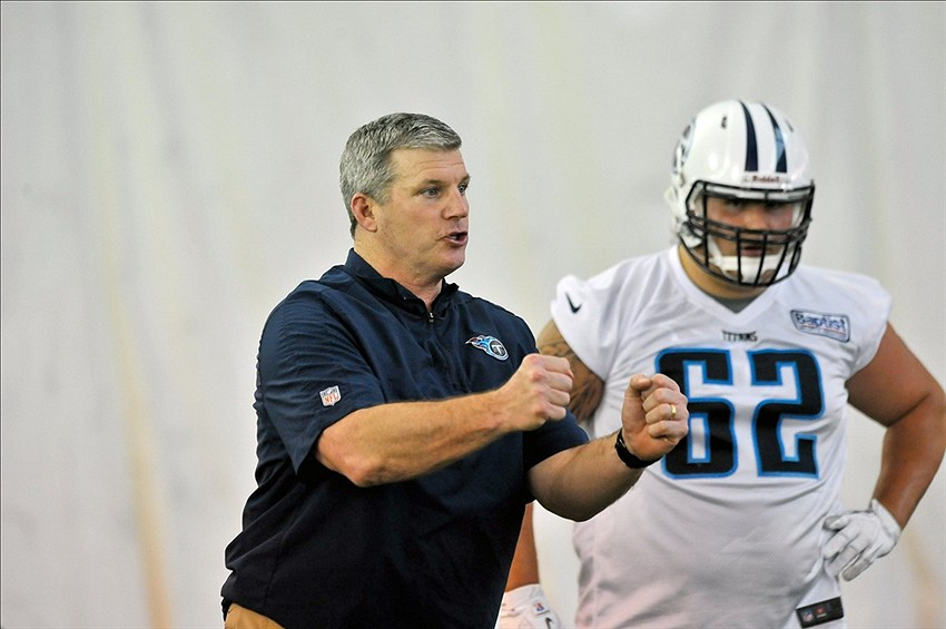 Report Mike Munchak Had Strong Interview With Detroit Lions