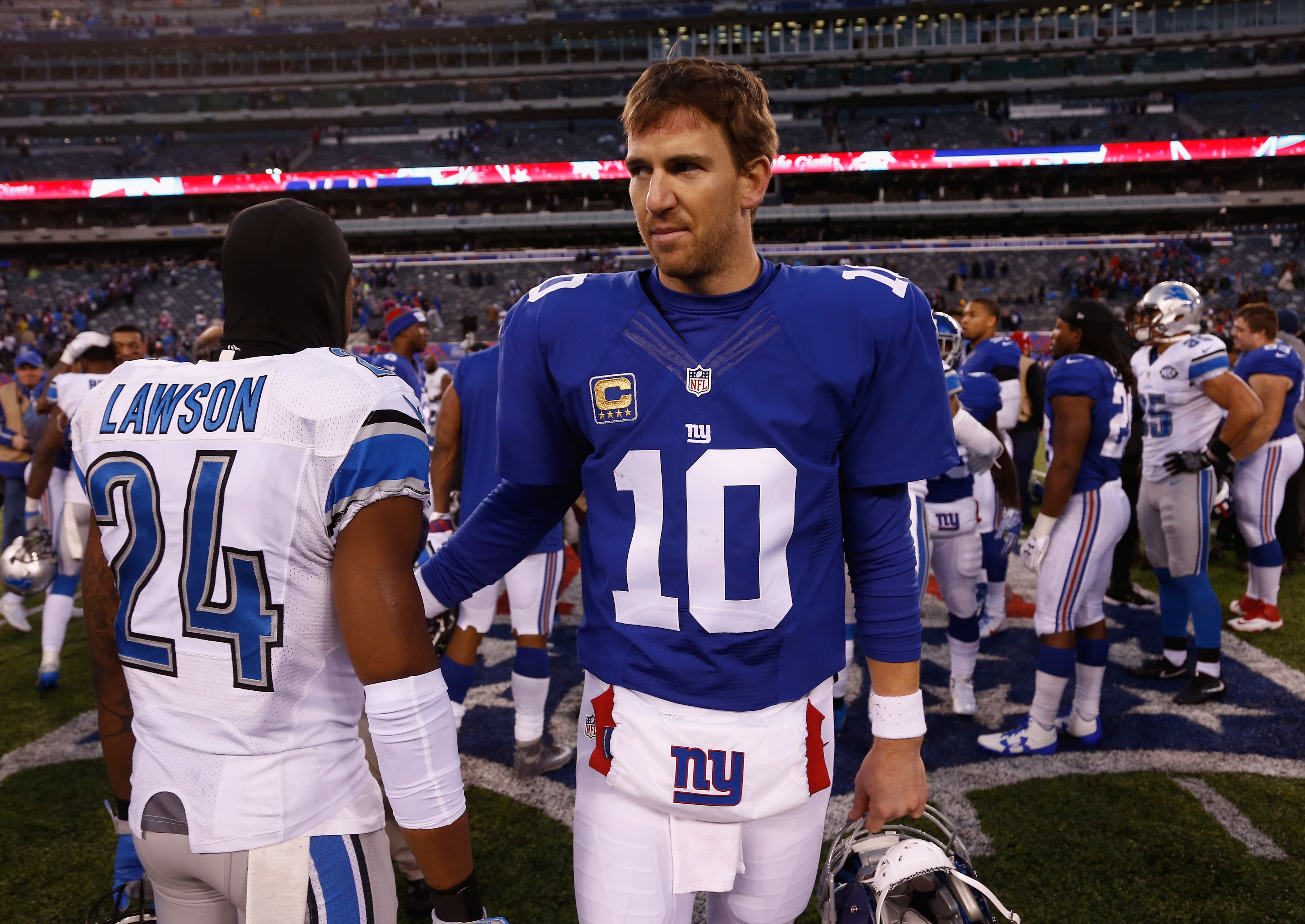 'SLOPPY' - Giants Head Coach Dumps On Eli Manning For Latest Loss