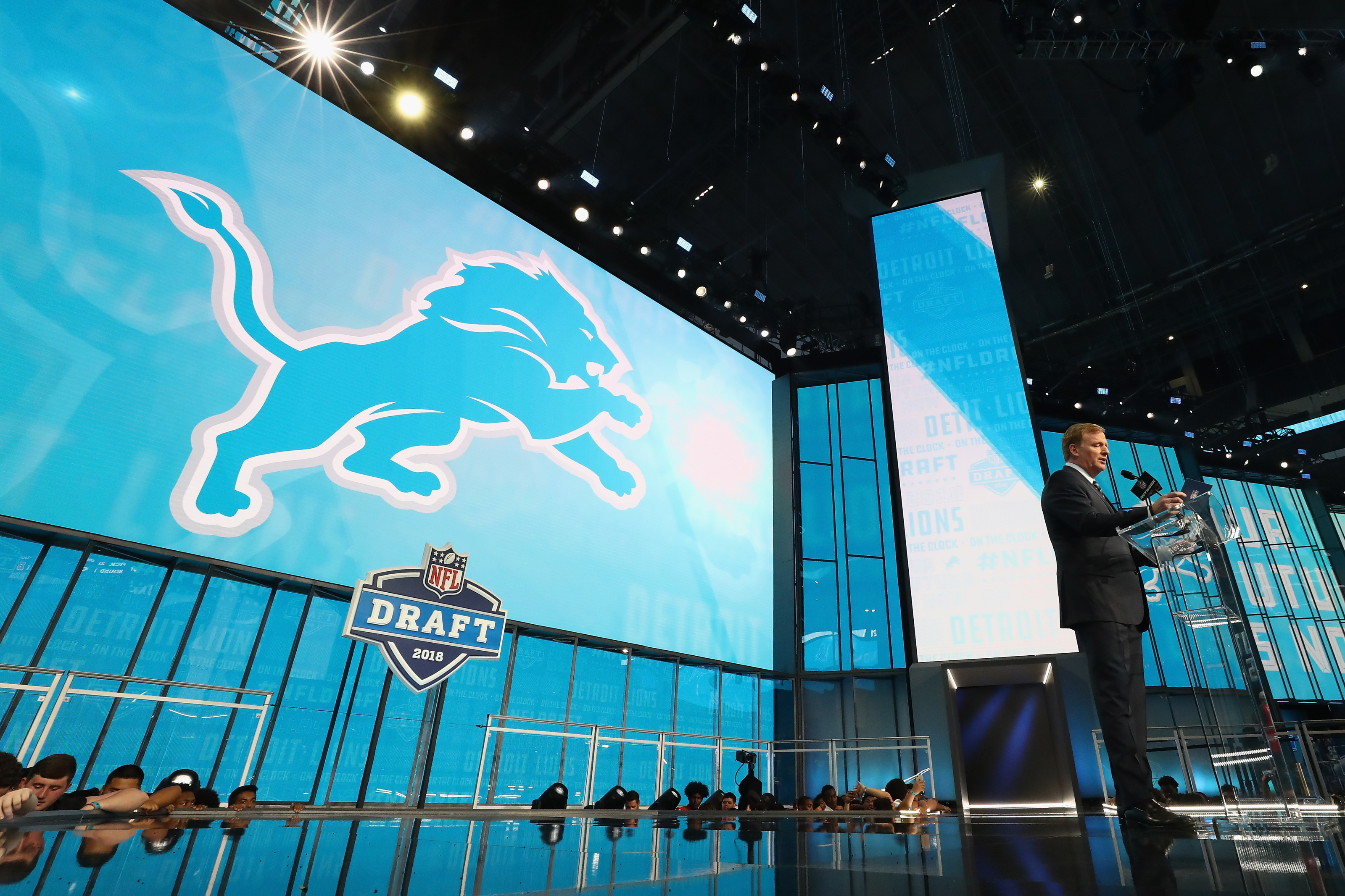 Detroit Lions full first-round mock draft; What about round two?