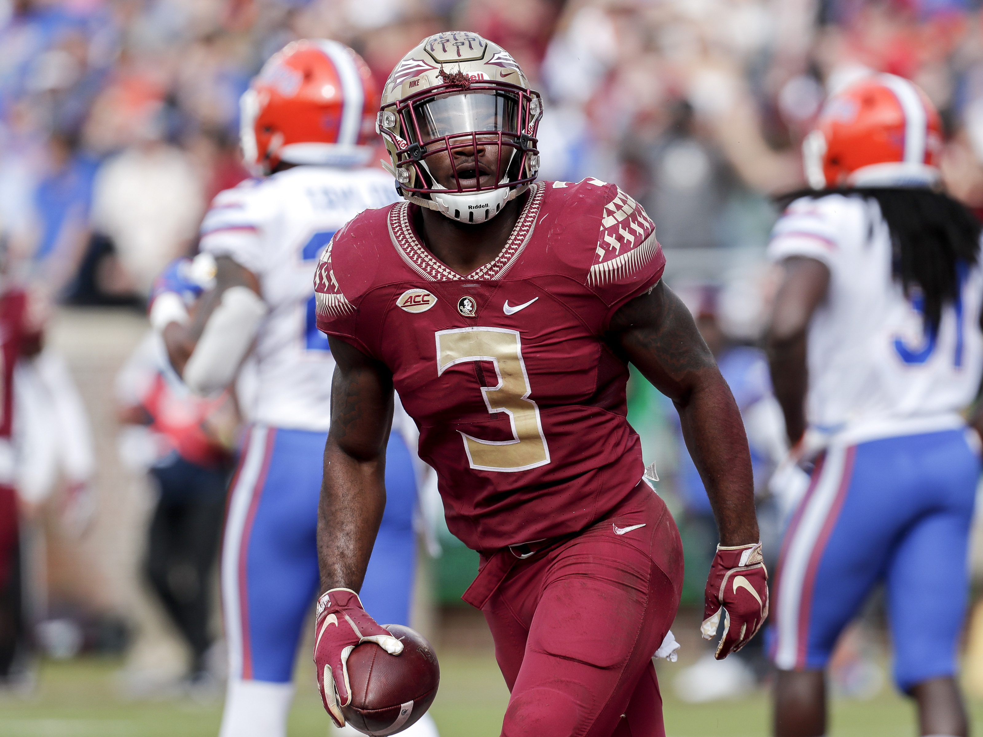Detroit Lions 2020 Draft Prospect Florida State S Cam Akers